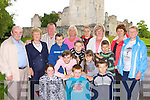 The Mid Kerry Chernobyl Children members with some of the children who are visiting Kerry from Chernobyl in Ross Castle on Tuesday front row l-r: Nicola, Seamus Giles Faha, Maksim. Middle row: Kolja, Hanna, Artom, Ulja, Ilja all Chernobyl. Back row: Tony McSweeney Glenbeigh, Kitty Murphy Glenbeigh, Hugh Dwyer Killorglin, Majella Horan Glenbeigh, Yana Sweeney Milltown, Natasha Sidorchuk Chernobyl, Dora McCarthy Inch and Kathleen Giles Faha