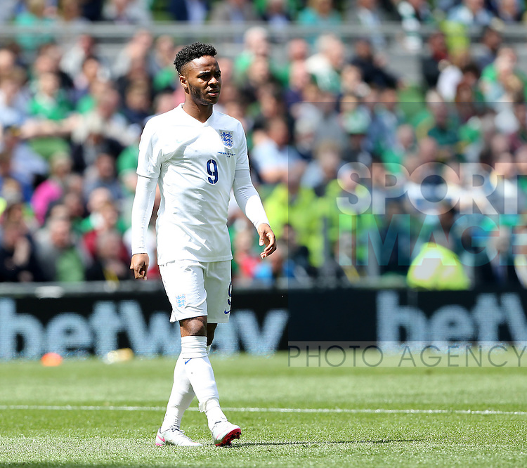 England's Raheem Sterling in action<br /> <br /> International Friendly - Republic of Ireland vs England - Aviva Stadium - Ireland - 7th June 2015 - Picture David Klein/Sportimage