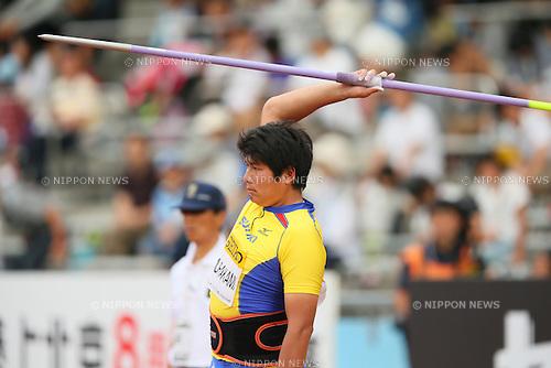 Yukifumi Murakami, MAY 10, 2015 - Athletics : IAAF World Challenge Seiko Golden Grand Prix in Kawasaki, Men's Javelin Throw at Todoroki Stadium, Kanagawa, Japan. (Photo by YUTAKA/AFLO SPORT)