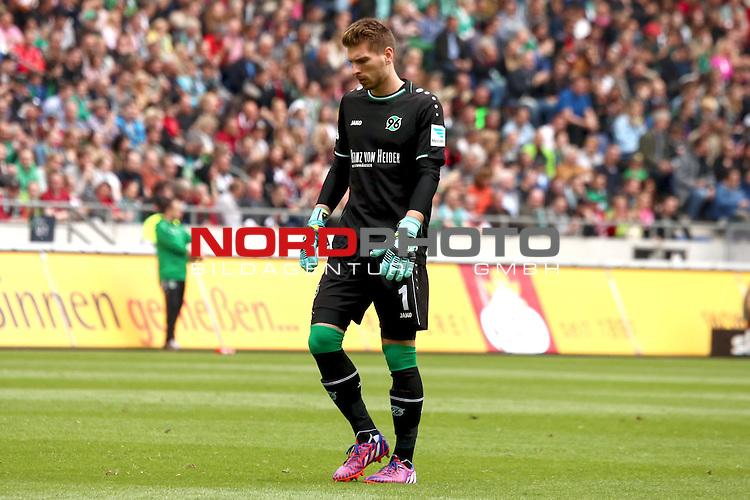 09.05.2015, HDI Arena, Hannover, GER, 1.FBL, Hannover 96 vs SV Werder Bremen im Bild <br /> <br /> Ron-Robert Zieler (Hannover 96)<br /> <br /> Foto &copy; nordphoto / Rust