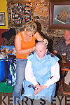 HEAD SHAVE: Fundraisers at The Rock Inn, Rock St, Tralee, on Friday night last, in aid of the Irish Sudden Infant Death Association.