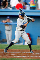 August 13, 2009:  Catcher Dan Killian of the Vermont Lake Monsters during a game at Dwyer Stadium in Batavia, NY.  The Lake Monsters are the Short-Season Class-A affiliate of the Washington Nationals.  Photo By Mike Janes/Four Seam Images