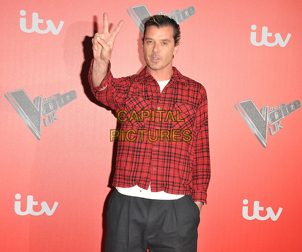 Gavin Rossdale at the &quot;The Voice UK&quot; press launch, Millbank Tower, Millbank, London, England, UK, on Wednesday 04 January 2017. <br /> CAP/CAN<br /> &copy;CAN/Capital Pictures