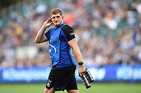 Stuart Hooper of Bath Rugby looks on. Heineken Champions Cup match, between Bath Rugby and Stade Toulousain on October 13, 2018 at the Recreation Ground in Bath, England. Photo by: Patrick Khachfe / Onside Images