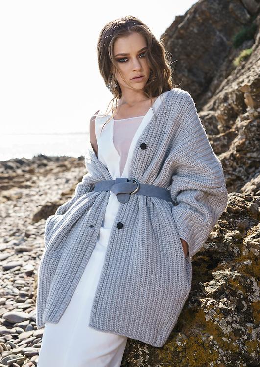 Fashion with Mirella , Winter Grey's at Marino Rocks, Model Accalia from Pridemodels   Photo: Nick Clayton