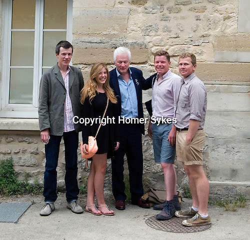 Theo, Tallulah, HWS, Jacob, Nick. 26/06/2014 Opening evening party at Maison de la Photographic Robert Doisneau Paris.