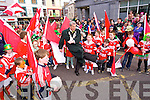 Mayor of Tralee Pat Hussey scores at the St. Patrick's Day Parade Tralee 2014