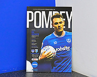 Kal Naismith of Portsmouth on the front of the match day programme during Portsmouth vs Gillingham, Sky Bet EFL League 1 Football at Fratton Park on 10th March 2018