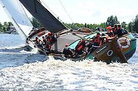 SKÛTSJESILEN: SKS 2015, Langweer, ©foto Martin de Jong