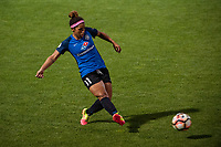 Kansas City, MO - Saturday June 17, 2017: Desiree Scott during a regular season National Women's Soccer League (NWSL) match between FC Kansas City and the Seattle Reign FC at Children's Mercy Victory Field.
