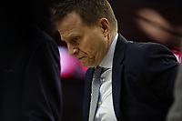 17th January 2019, The O2 Arena, London, England; NBA London Game, Washington Wizards versus New York Knicks; A dejected looking Washington Wizards Head Coach Scott Brooks as he calls a time out