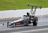 May 20, 2017; Topeka, KS, USA; NHRA top alcohol dragster driver Steve Collier during qualifying for the Heartland Nationals at Heartland Park Topeka. Mandatory Credit: Mark J. Rebilas-USA TODAY Sports