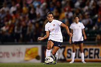 Sky Blue FC midfielder Taylor Lytle (6). The Western New York Flash defeated Sky Blue FC 2-0 during a National Women's Soccer League (NWSL) semifinal match at Sahlen's Stadium in Rochester, NY, on August 24, 2013.