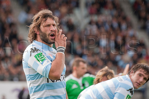 16.10.2010 Heineken Cup Rugby from France Racing Metro 92 v Clermont. Picture shows Lionel Nallet (Racing Metro 92).