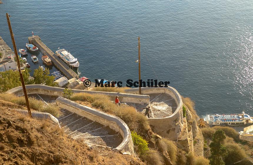 Eselsstrecke auf Santorin - 22.11.2017: Santorin mit der Costa Deliziosa