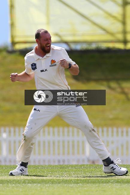 NELSON, NEW ZEALAND - DECEMBER 14: Central v Wellington - Plunket Shield on December 14 2018 in Nelson, New Zealand. (Photo by: Evan Barnes Shuttersport Limited)