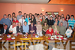 50TH: Martina Maher of Milltown celebrating her 50th birthday in the Killarney Heights Hotel on Saturday evening along with family and friends..
