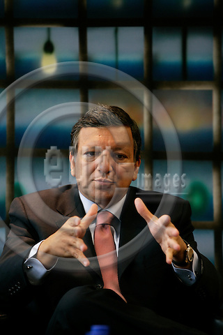BRUSSELS - BELGIUM - 28 AUGUST 2007 --  Jose Manuel BARROSO President of the European Commission.  Photo: Erik Luntang/EUP-IMAGES