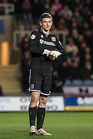 Goalkeeper Adam Smith of Northampton Town during the Sky Bet League 2 match between Oxford United and Northampton Town at the Kassam Stadium, Oxford, England on 16 February 2016. Photo by Andy Rowland.