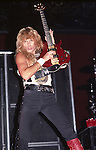 Rudy Sarzo of Whitesnake performs at Madison Square Garden in New York US
