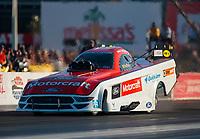 Nov 3, 2019; Las Vegas, NV, USA; NHRA funny car driver Bob Tasca III during the Dodge Nationals at The Strip at Las Vegas Motor Speedway. Mandatory Credit: Mark J. Rebilas-USA TODAY Sports