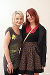 Ewa Rachwalska and Clioghna Cunningham at the Droichead Arts Centre...Photo NEWSFILE/Jenny Matthews.(Photo credit should read Jenny Matthews/NEWSFILE)....This Picture has been sent you under the condtions enclosed by:.Newsfile Ltd..The Studio,.Millmount Abbey,.Drogheda,.Co Meath..Ireland..Tel: +353(0)41-9871240.Fax: +353(0)41-9871260.GSM: +353(0)86-2500958.email: pictures@newsfile.ie.www.newsfile.ie.FTP: 193.120.102.198.