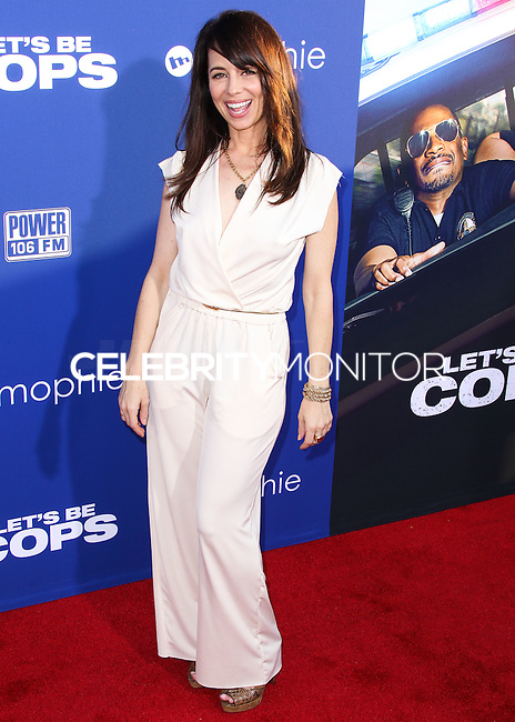 """HOLLYWOOD, LOS ANGELES, CA, USA - AUGUST 07: Natasha Leggero at the Los Angeles Premiere Of 20th Century Fox's """"Let's Be Cops"""" held at ArcLight Cinemas Cinerama Dome on August 7, 2014 in Hollywood, Los Angeles, California, United States. (Photo by Xavier Collin/Celebrity Monitor)"""