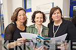 Pictured at the launch of the Kerry education service adult and further education into the 21st century report at Riverside house on Friday were Sharon Browne, Anne O'Dwyer and Shivaun Shanahan.