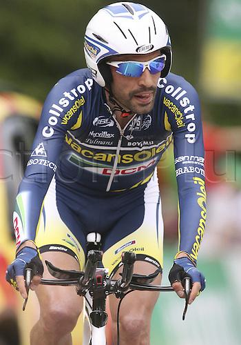 30.05.2011 Tour de Romandie Stage 4 Vevey to Chatel. Picture shows Anza Santo ITA.