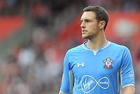 Southampton's Alex McCarthy<br /> <br /> Photographer Kevin Barnes/CameraSport<br /> <br /> The Premier League - Southampton v Burnley - Sunday August 12th 2018 - St Mary's Stadium - Southampton<br /> <br /> World Copyright &copy; 2018 CameraSport. All rights reserved. 43 Linden Ave. Countesthorpe. Leicester. England. LE8 5PG - Tel: +44 (0) 116 277 4147 - admin@camerasport.com - www.camerasport.com