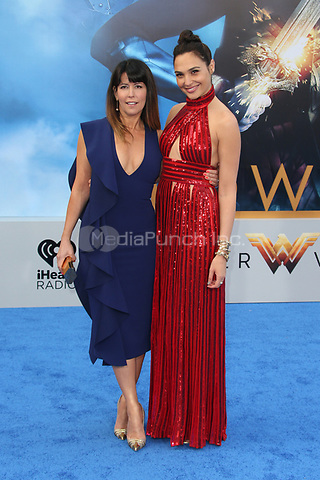 HOLLYWOOD, CA - MAY 25: Patty Jenkins, Gal Gadot, at the Wonder Woman Los Angeles Film Premiere at The Pantages in Hollywood, California on May 25, 2017. Credit: Faye Sadou/MediaPunch