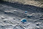 Jefferies Glaciers, Wrangell-St. Elias National Park, Alaska, USA