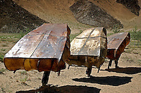 For generations in Junba Village in Tibet, the small community has sustained themselves almost entirely by fishing the Lhasa and Tsangpo Rivers in their unique boats made from six to eight bull skins.