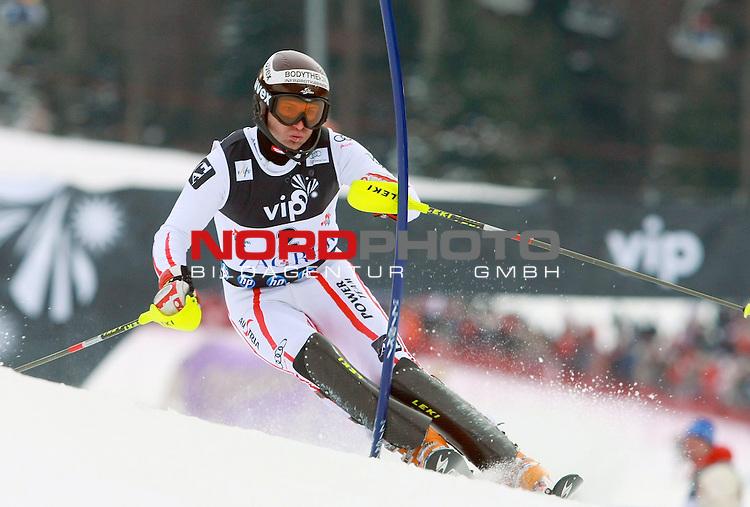 06.01.2011., Sljeme, Zagreb, Hrvatska - <br /> Prva slalom voznja muske utrke Snow Queen Trophy za FIS svjetski kup. <br /> Reinfried Herbst<br />                                                                                                   Foto:   nph / PIXSELL