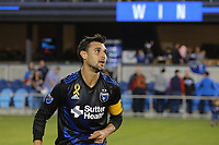 San Jose, CA - Saturday September 16, 2017: Chris Wondolowski after a Major League Soccer (MLS) match between the San Jose Earthquakes and the Houston Dynamo at Avaya Stadium.