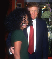 Diana Ross Donald Trump 1995<br /> Photo By John Barrett/PHOTOlink.net