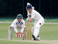 Sasha Ward bats for Brondesbury during the Middlesex Cricket League Division Two game between Brondesbury and Wembley at Harman Drive, London on Sat Aug 1, 2015