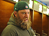 Nick Mangold #74 New York Jets center speaks to the media in the locker room after team practice at the Atlantic Health Jets Training Jets Training Center in Florham Park, NJ on Wednesday, Dec. 30, 2015.