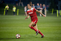 Kansas City, MO - Saturday May 27, 2017: Havana Solaun during a regular season National Women's Soccer League (NWSL) match between FC Kansas City and the Washington Spirit at Children's Mercy Victory Field.
