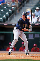 Scranton/Wilkes-Barre RailRiders designated hitter Ike Davis (50) at bat during a game against the Buffalo Bisons on July 2, 2016 at Coca-Cola Field in Buffalo, New York.  Scranton defeated Buffalo 5-1.  (Mike Janes/Four Seam Images)