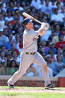New York Mets third baseman David Wright #5 during a game against the Chicago Cubs at Wrigley Field on July 15, 2006 in Chicago, Illinois.  (Mike Janes/Four Seam Images)