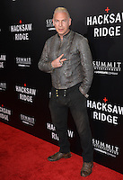LOS ANGELES, CA. October 24, 2016: Director Ash Baron-Cohen at the Los Angeles premiere of &quot;Hacksaw Ridge&quot; at The Academy's Samuel Goldwyn Theatre, Beverly Hills.<br /> Picture: Paul Smith/Featureflash/SilverHub 0208 004 5359/ 07711 972644 Editors@silverhubmedia.com