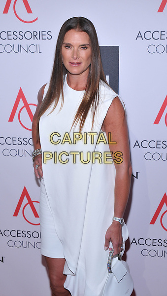 NEW YORK, NY - August 7: Brooke Shields,  attends the Accessories Council's 21st Annual celebration of the ACE awards at Cipriani 42nd Street on August 7, 2017 in New York City in New York City. <br /> CAP/MPI/JP<br /> &copy;JP/MPI/Capital Pictures