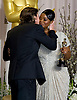 "OCTAVIA SPENCER AND CHRISTIAN BALE.Octavia Spencer is congratulated with a kiss by Bale on winning the Best Supporting Actress Award for her role in ""Help"" at the 84th Academy Awards, Kodak Theatre, Hollywood, Los Angeles_26/02/2012.Mandatory Photo Credit: ©Dias/Newspix International..**ALL FEES PAYABLE TO: ""NEWSPIX INTERNATIONAL""**..PHOTO CREDIT MANDATORY!!: NEWSPIX INTERNATIONAL(Failure to credit will incur a surcharge of 100% of reproduction fees)..IMMEDIATE CONFIRMATION OF USAGE REQUIRED:.Newspix International, 31 Chinnery Hill, Bishop's Stortford, ENGLAND CM23 3PS.Tel:+441279 324672  ; Fax: +441279656877.Mobile:  0777568 1153.e-mail: info@newspixinternational.co.uk"