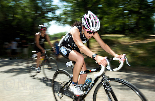 05 JUN 2010 - MADRID, ESP - Esther Antunez Diaz - Spanish Age Group Triathlon Championships (PHOTO (C) NIGEL FARROW)