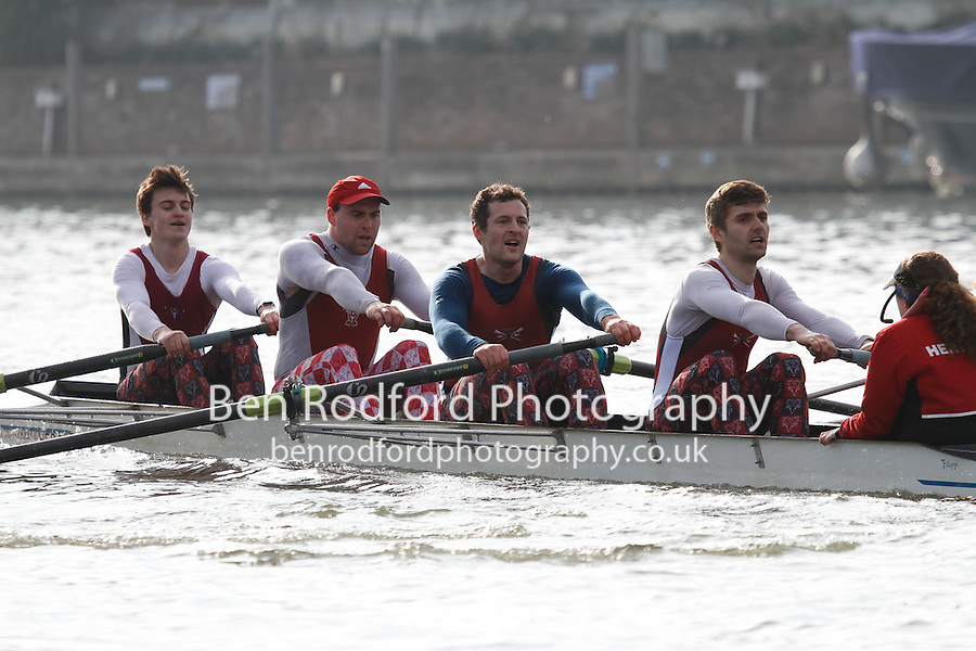 Crew: 257 - Hertford Coll  - IM3.4+ <br /> <br /> Henley Fours &amp; Eights Head 2017<br /> <br /> To purchase this photo, or to see pricing information for Prints and Downloads, click the blue 'Add to Cart' button at the top-right of the page.