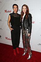 "LOS ANGELES - OCT 15:  Bellamy Young, Darby Stanchfield at the ""Turn Me Loose"" at the Wallis Annenberg at the Wallis Annenberg Center for the Performing Arts on October 15, 2017 in Beverly Hills, CA"