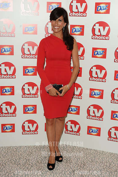 Gaynor Faye arriving for the TV Choice Awards 2010 at the Dorchester Hotel, London. 06/09/2010  Picture by: Steve Vas / Featureflash