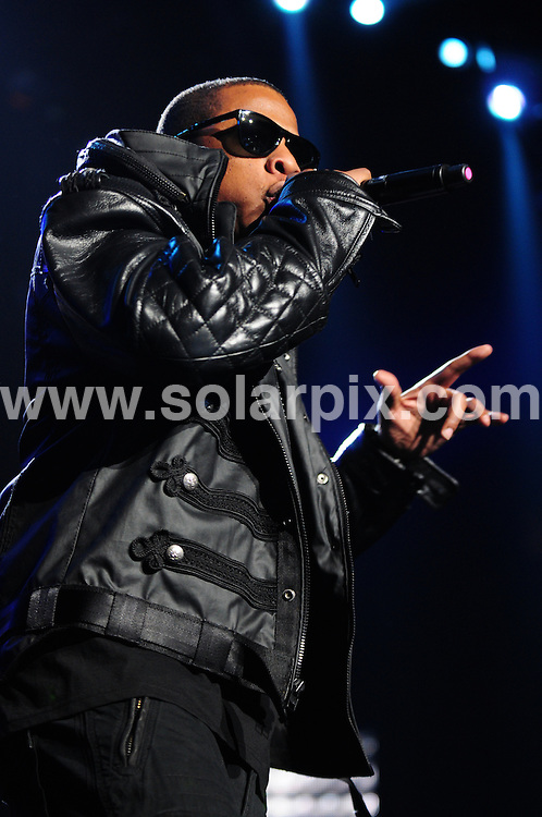 **ALL ROUND PICTURES FROM SOLARPIX.COM**.**SYNDICATION RIGHTS FOR UK, AUSTRALIA, DENMARK, PORTUGAL, S. AFRICA, SPAIN & DUBAI (U.A.E) ONLY**.Jay-Z and Trey Songz in Concert on the Blueprint 3 Tour at the Izod Center in East Rutherford, Izod Center / East Rutherford, NJ, USA, 06 March 2010.This pic: Jay-Z.JOB REF: 10859 PHZ bednar DATE:06_03_2010.**MUST CREDIT SOLARPIX.COM OR DOUBLE FEE WILL BE CHARGED**.**MUST NOTIFY SOLARPIX OF ONLINE USAGE**.**CALL US ON: +34 952 811 768 or LOW RATE FROM UK 0844 617 7637**