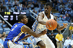 22 December 2012: North Carolina's Reggie Bullock (35) and McNeese State's Jeremie Mitchell (2). The University of North Carolina Tar Heels played the McNeese State University Cowboys at the Dean E. Smith Center in Chapel Hill, North Carolina in an NCAA Division I Men's college basketball game. UNC won the game 97-63.
